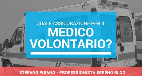 Assicurazione per il medico volontario